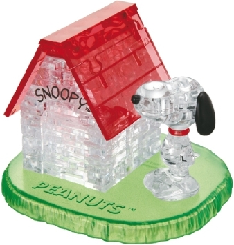 Crystal Puzzle - Snoopy House