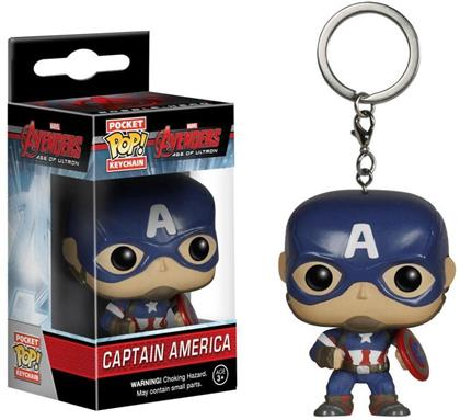Avengers Age of Ultron: Captain America - POP! Pocket Keychain (Limited Edition)