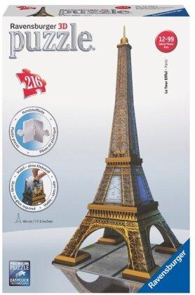 Eiffelturm - 3D Gebäude Puzzle