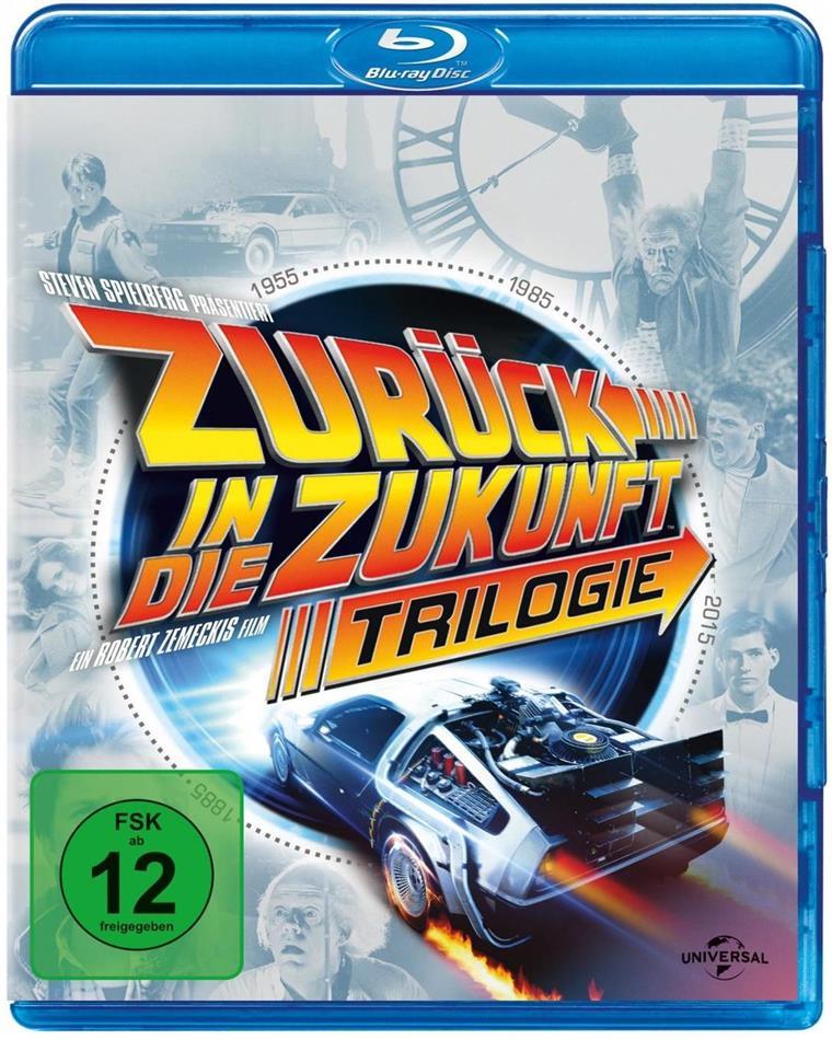 Zurück in die Zukunft - Trilogie (30th Anniversary Edition, 4 Blu-rays)