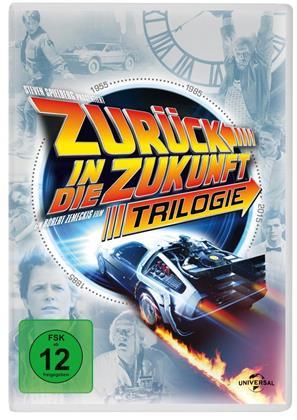 Zurück in die Zukunft - Trilogie (30th Anniversary Edition, 4 DVDs)