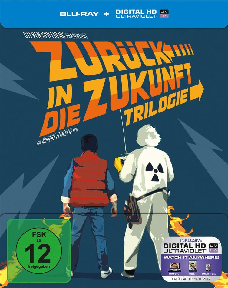 Zurück in die Zukunft - Trilogie (30th Anniversary Limited Edition, Steelbook, 4 Blu-rays)
