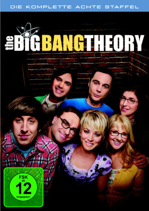 The Big Bang Theory - Staffel 8 (3 DVDs)
