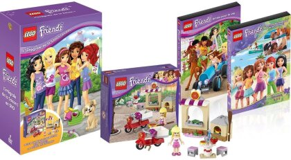 LEGO: Friends - Saison 1 (inclus 1 jeu de construction LEGO Friends, Limited Edition, 2 DVDs)