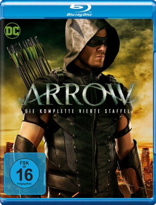 Arrow - Staffel 4 (4 Blu-rays)