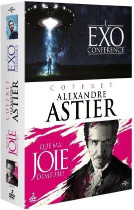 Coffret Alexandre Astier - L'Exoconférence / Que ma joie demeure ! (2 DVDs)