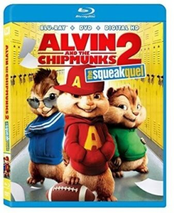 Alvin & The Chipmunks - Squeakquel (2009) (Blu-ray + DVD)