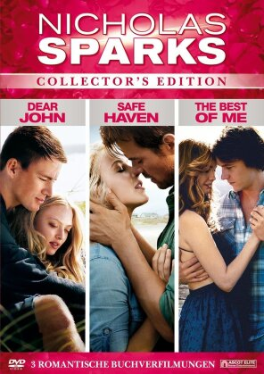 Nicholas Sparks Box (Collector's Edition, 3 DVDs)
