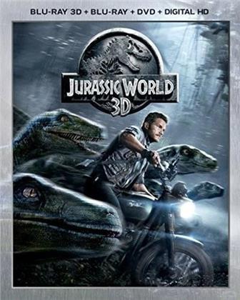 Jurassic World - Jurassic Park 4 (2015) (Blu-ray 3D + Blu-ray + DVD)