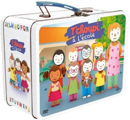 T'choupi à l'école - Coffret valisette (5 DVDs)