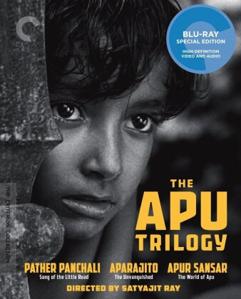 The Apu Trilogy (Criterion Collection, 3 Blu-rays)