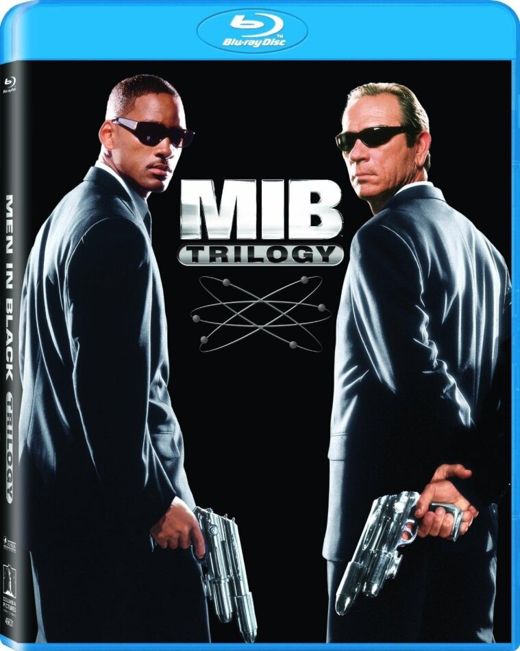 Men In Black 1-3 - Trilogy (3 Blu-ray)