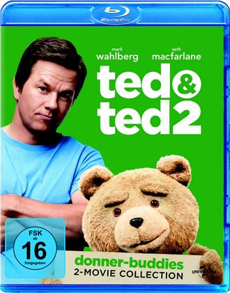 Ted & Ted 2 (Donner-Buddies 2-Movie Collection, 2 Blu-rays)