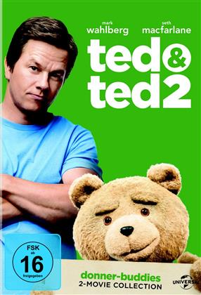 Ted & Ted 2 (Donner-Buddies 2-Movie Collection, 2 DVDs)
