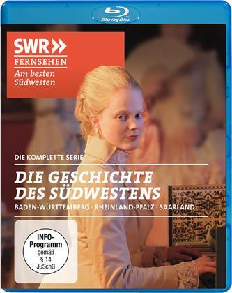 Die Geschichte des Südwestens - Baden-Württemberg, Rheinland-Pfalz, Saarland - Die komplette Serie (2 Blu-rays)