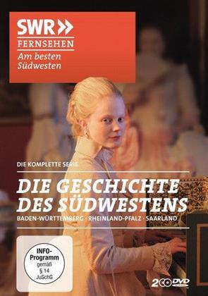 Die Geschichte des Südwestens - Baden-Württemberg, Rheinland-Pfalz, Saarland - Die komplette Serie (2 DVDs)
