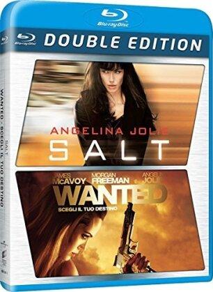 Wanted / Salt (2 Blu-ray)