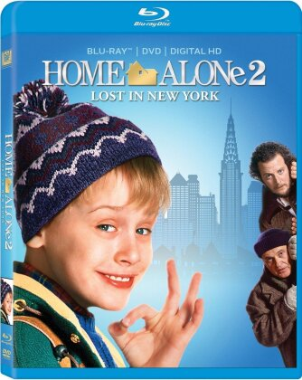 Home Alone 2 - Lost In New York (1992) (Widescreen, Blu-ray + DVD)