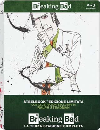 Breaking Bad - Stagione 3 (Edizione Limitata, Steelbook, 3 Blu-ray)