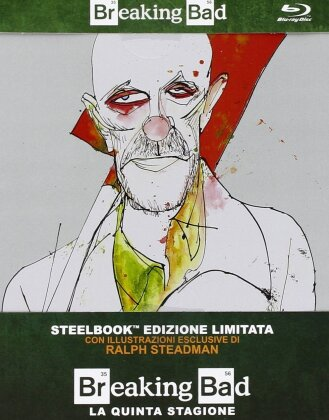 Breaking Bad - Stagione 5.1 (Edizione Limitata, Steelbook, 2 Blu-ray)
