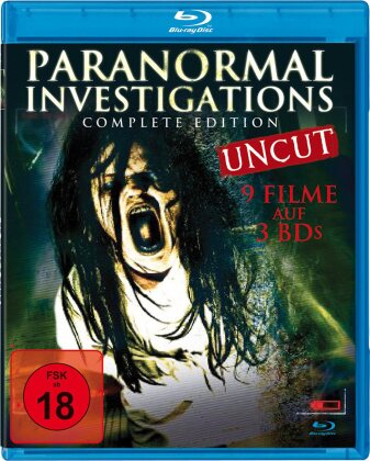 Paranormal Investigations (Complete Edition, Uncut, 3 Blu-rays)