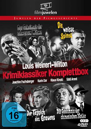 Louis Weinert-Wilton - Krimi-Klassiker (Filmjuwelen, Box, s/w, 4 DVDs)