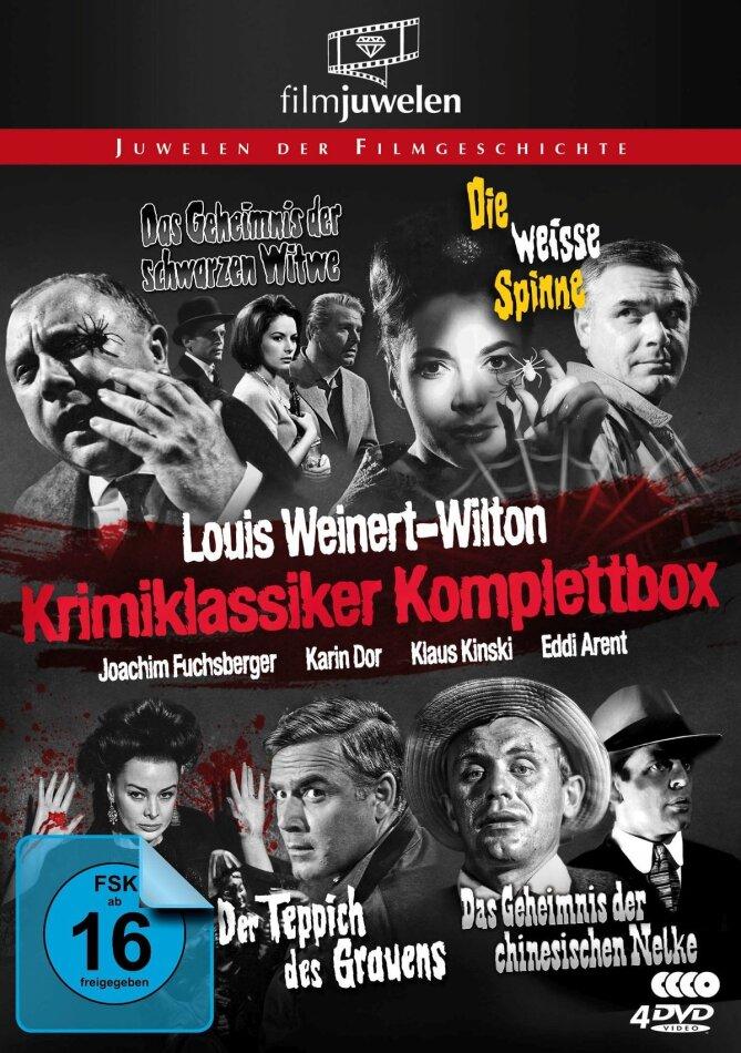 Louis Weinert-Wilton - Krimi-Klassiker (Filmjuwelen, Cofanetto, n/b, 4 DVD)