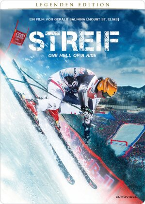 Streif - One Hell of a Ride (2014) (Legenden Edition, Steelbook, Blu-ray + 2 DVDs + CD)