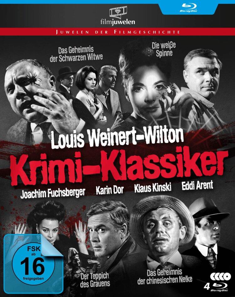 Louis Weinert-Wilton - Krimi-Klassiker (Filmjuwelen, Cofanetto, 4 Blu-ray)