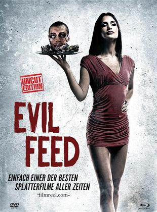 Evil Feed (2013) (Cover A, Limited Edition, Mediabook, Uncut, Blu-ray + DVD)