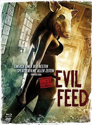 Evil Feed (2013) (Cover B, Limited Edition, Mediabook, Uncut, Blu-ray + DVD)