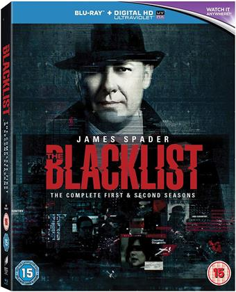 The Blacklist - Seasons 1-2 (12 Blu-rays)