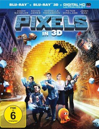Pixels (2015) (Blu-ray 3D + Blu-ray)