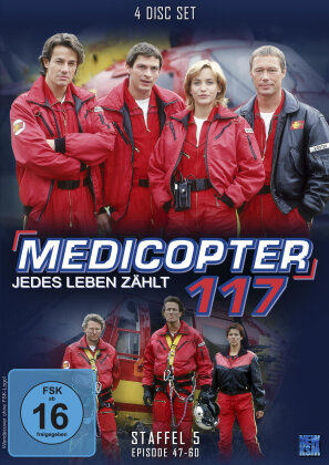 Medicopter 117 - Staffel 5 (4 DVDs)
