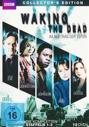 Waking the Dead - Im Auftrag der Toten - Staffel 1-3 (BBC, Collector's Edition, 12 DVDs)