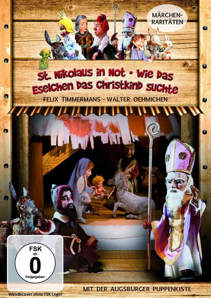 Augsburger Puppenkiste - St. Nikolaus in Not / Wie das Eselchen das Christkind suchte (s/w)