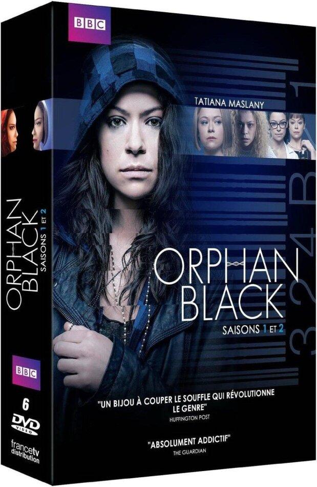 Orphan Black - Saisons 1 et 2 (BBC, 6 DVDs)