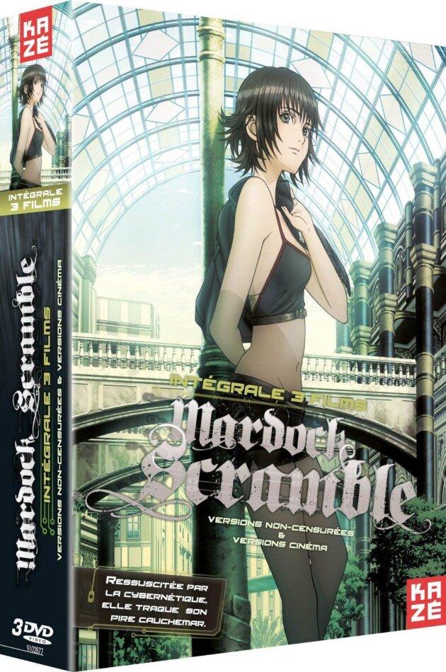 Mardock Scramble - Intégrale Trilogie (Director's Cut, Kinoversion, 3 DVDs)