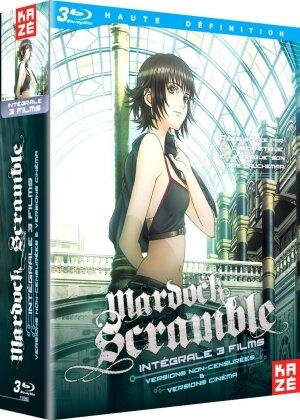 Mardock Scramble - Intégrale Trilogie (Director's Cut, Kinoversion, 3 Blu-rays)