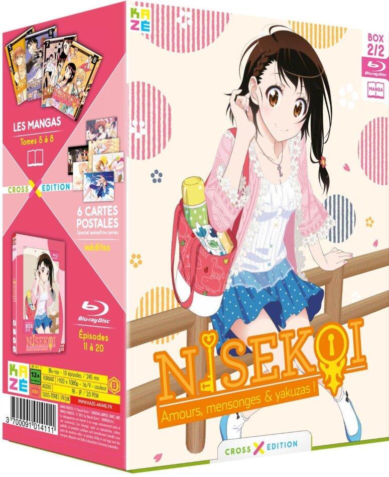 Nisekoi - Box Vol. 2 (Cross Edition Collector + 4 Manga)