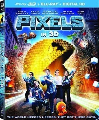 Pixels (2015) (Blu-ray 3D (+2D) + Blu-ray)