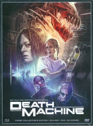 Death Machine (1994) (Digipack, Collector's Edition, Limited Edition, Uncut, Blu-ray + DVD + CD)