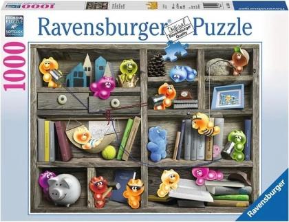 Gelini: Gelini im Bücherregal - Puzzle