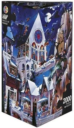 Jean-Jacques Loup: Castle of Horror - 2000 Teile Puzzle