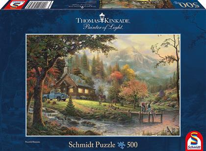 Thomas Kinkade: Idylle am Fluss - 500 Teile Puzzle