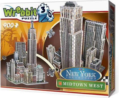 New York Collection: Midtown West - 900 Teile 3D Puzzle