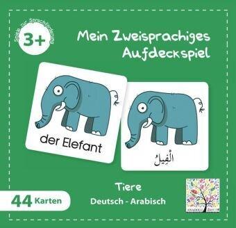 Mein Zweisprachiges Aufdeckspiel, Tiere - Arabisch (Kinderspiel)