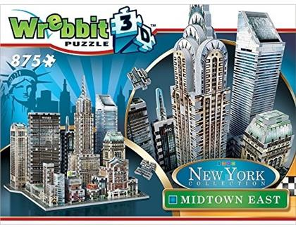 New York Collection: Midtown East - 875 Teile 3D Puzzle