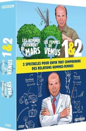 Les Hommes viennent de Mars, les femmes de Vénus 1 & 2 (2 DVDs)