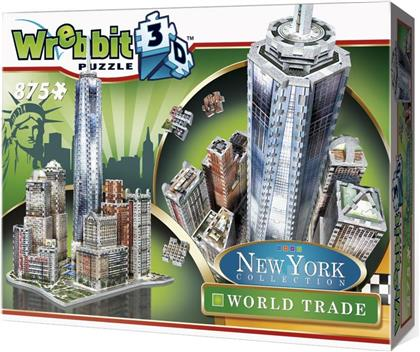New York Collection: World Trade - 875 Teile 3D Puzzle